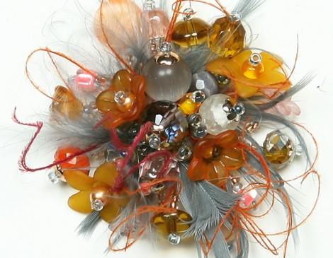petite plumes orange