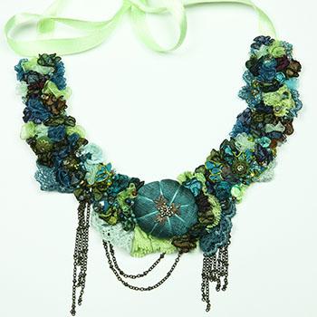 tour de cou turquoise