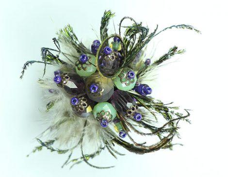 manipules turquoise violet